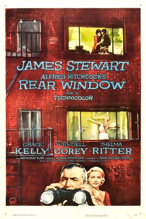 rear window grace kelly